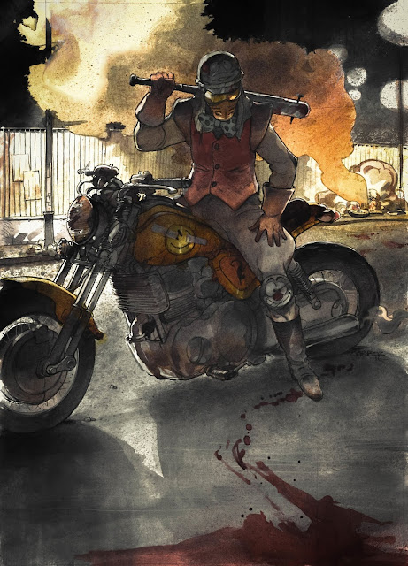 Akira Tribute - Illustration Yannick Corboz