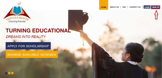 vidyasaarathi scholarship 2019