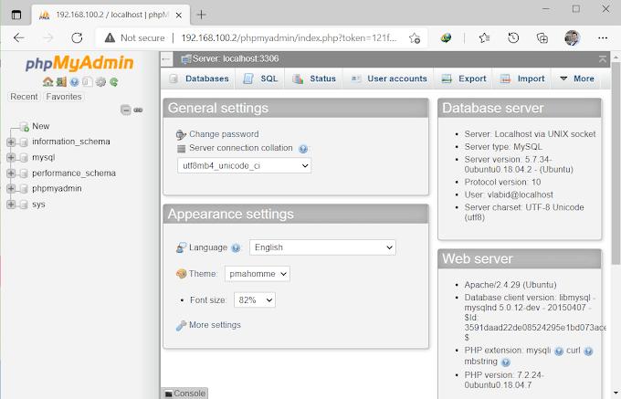 Bagaimana Menginstal phpMyAdmin di Ubuntu Server 18.04