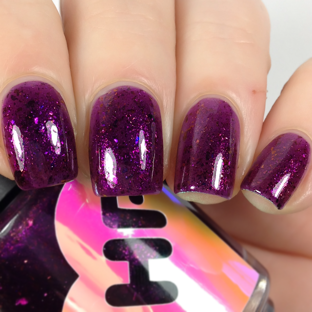 Sweet Heart Polish-Purple Lilies