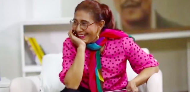 Viral Video Susi Pudjiastuti Menari di Atas Pecahan Piring Usai Edhy Prabowo Ditangkap KPK