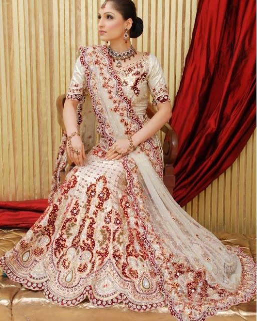 latest indian wedding sarees - photo #17