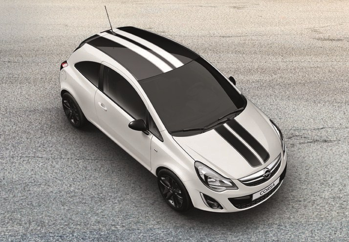 the opel corsa range is being complemented with the new color edition switch pack aimed at customers who want their corsa to have sporty stylish and unique - Opel Corsa Color Edition 2015