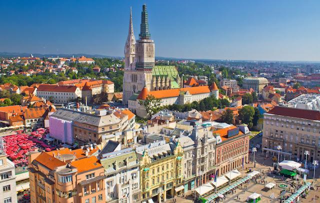 Aluguel de carro em Zagreb na Croácia