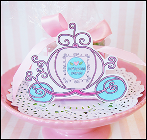 Precious Princess Coach Box. Free Printable.