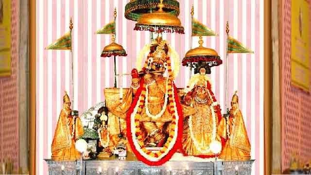 गोविंददेवजी मंदिर में झूला महोत्सव शुरू