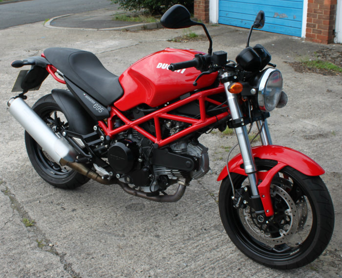 lateral science: ducati 695 monster for sale