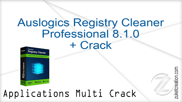 Auslogics Registry Cleaner Professional 8.1.0 + Crack
