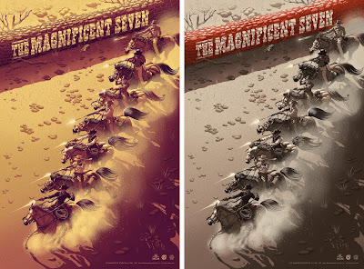 The Magnificent Seven Movie Poster Screen Print by Jay Gordon x Mad Duck Posters