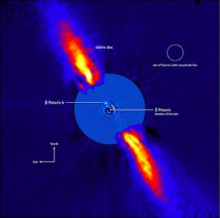 Confirman la existencia del exoplaneta Beta Pictoris c gracias a una imagen directa