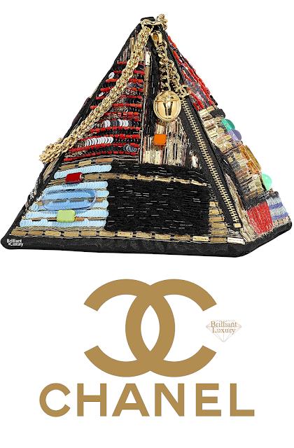 Brilliant Luxury♦Chanel Pyramid Bag #multicolor