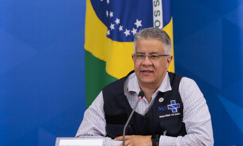 Wanderson de Oliveira, Secretário de Vigilância em Saúde, pede demissão