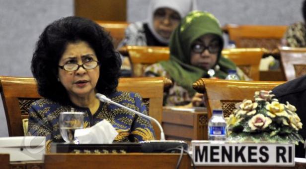 Menteri Kesehatan, Nila Farid Moeloek