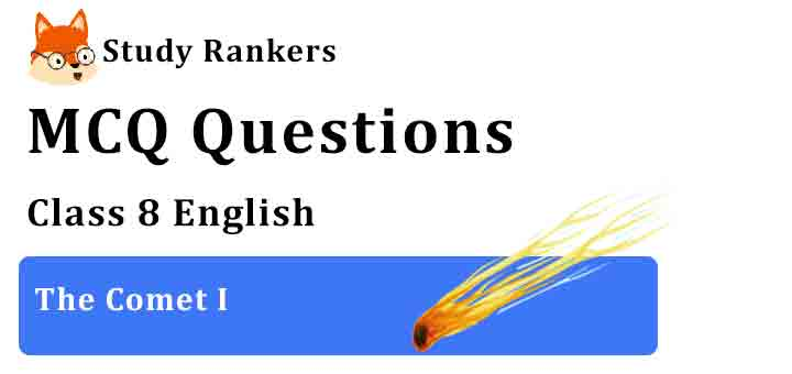 MCQ Questions for Class 8 English Chapter 9 The Comet I It So Happened