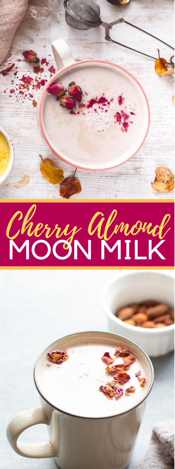 Cherry Almond Moon Milk #drinks #glutenfree