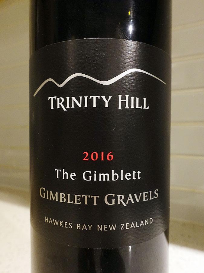 Trinity Hill The Gimblett 2016 (91 pts)