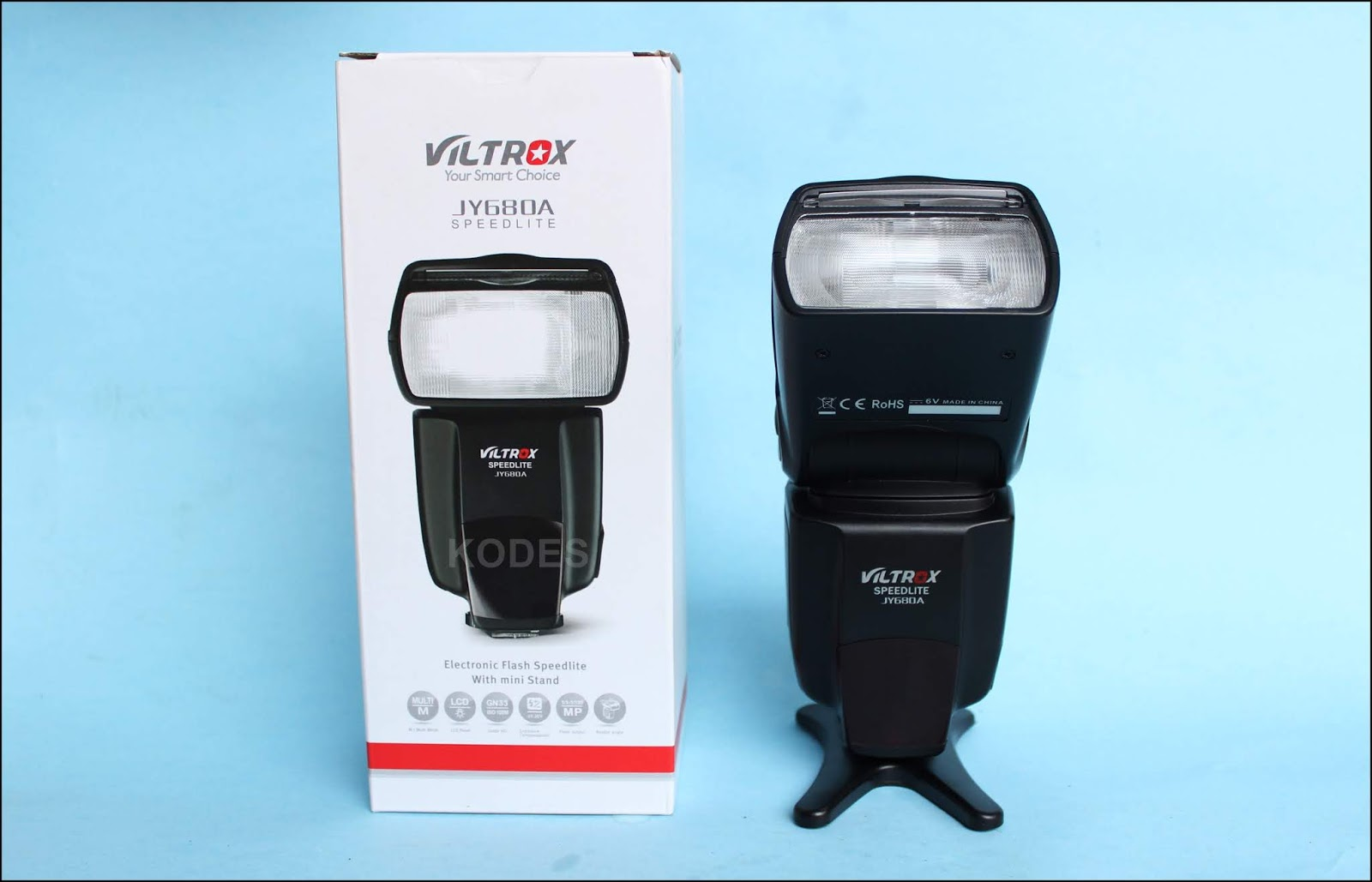 Viltrox JY680A, Flash Eksternal Murah Berkualitas
