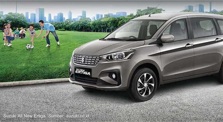 Kelebihan Suzuki All New Ertiga Yang Tampil Lebih Sporty