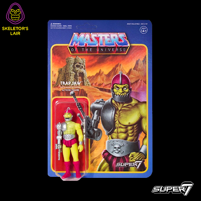 San Diego Comic-Con 2017 Exclusive Masters of the Universe Trap Jaw Mini-Comic Edition ReAction Retro Action Figure by Super7