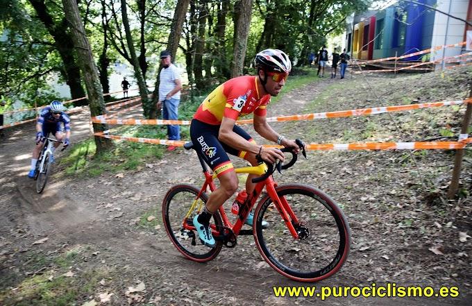 Felipe Orts logró el podium en la Copa de España de Ciclocross de Pontevedra