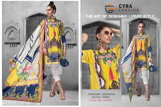 Cyra fashion crescent luxurious Pakistani Suits wholesaler
