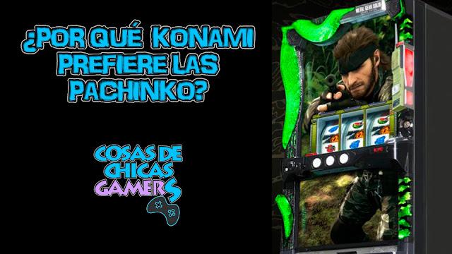 Konami y las pachinko, un negocio redondo
