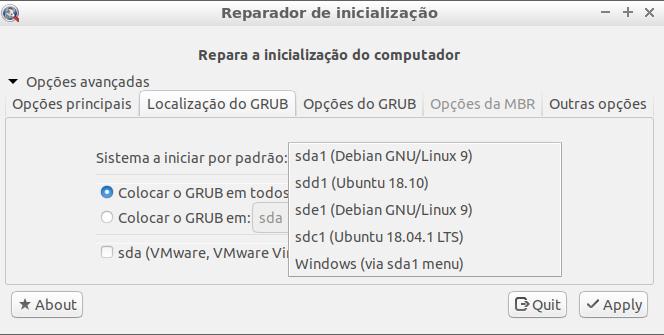 Boot-Repair-Disk - Recuperação e Manutenção do Sistema - Dicas Linux e Windows