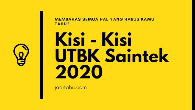 kisi kisi utbk 2020 - jaditahu.com