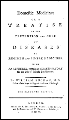 Front page of William Buchan's Domestic Medicine 1790