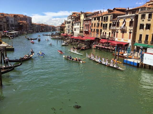 Vogalonga Venice, Italy photo by Cat Bauer Venice Insider blog