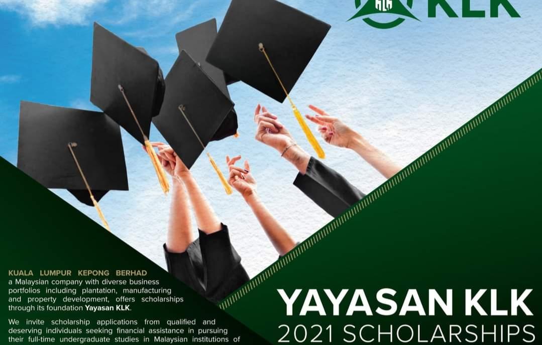 Permohonan Biasiswa Yayasan Kuala Lumpur Kepong (KLK) 2021 Online (Semakan Keputusan)