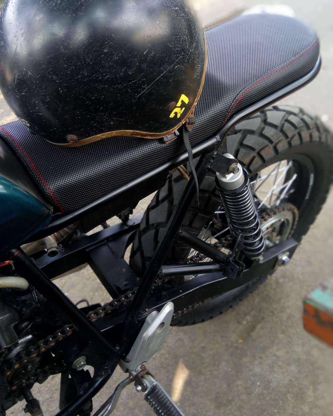 Jok Motor Custom Scrambler Tracker