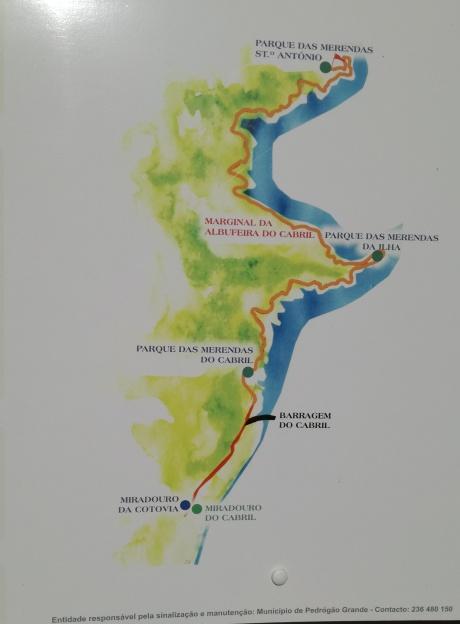 Marginal da Albufeira do Cabril