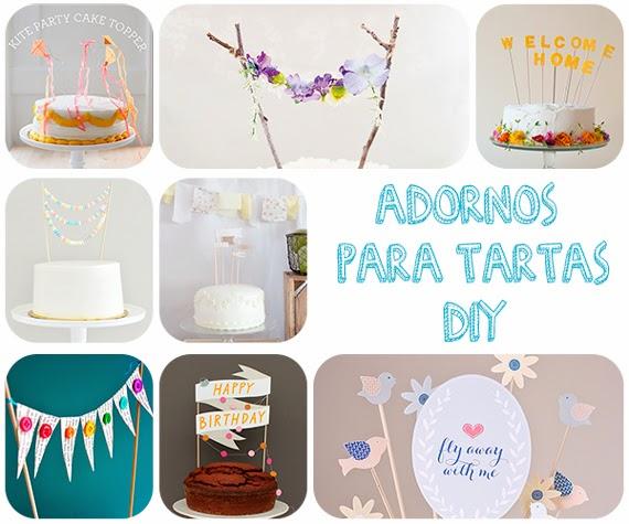 Marvi Blog Ideas Diy Adornos Para Tartas Faciles Y Originales - Adornos-tarta