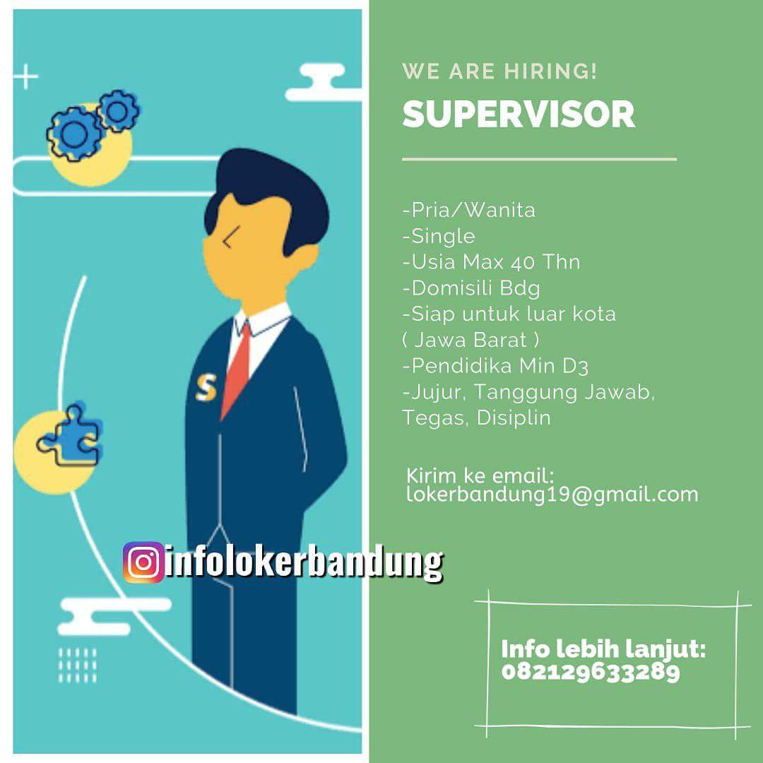 Lowongan Kerja Supervisor CV. Artha Graha Bandung September 2019