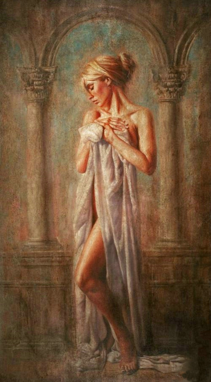 Tomasz Rut 1961 - Polish Figurative painter