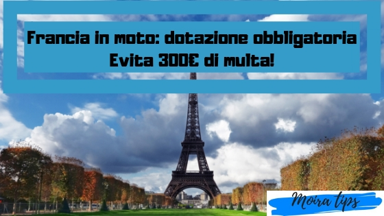 kit pronto soccorso moto francia