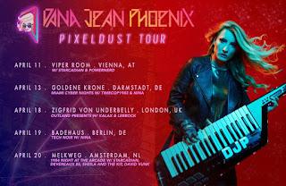 Dana Jean Phoenix - PixelDust Tour 2019 Europe