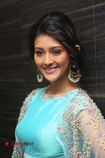 Actress Pooja Jhaveri Stills at Dwaraka Audio Launch  0062
