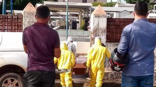 Santarém confirma 105 mortes por Covid-19 em 23 dias de fevereiro; outras 9 são investigadas