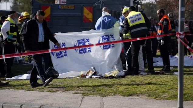 ataque terrorista en la Capital de Israel