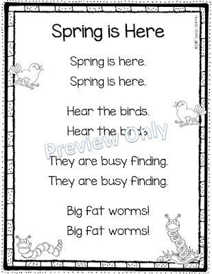 https://www.teacherspayteachers.com/Product/Spring-is-Here-Printable-Poem-for-Kids-3014837