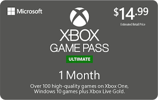 Xbox Game Pass Ultimate Gift Card