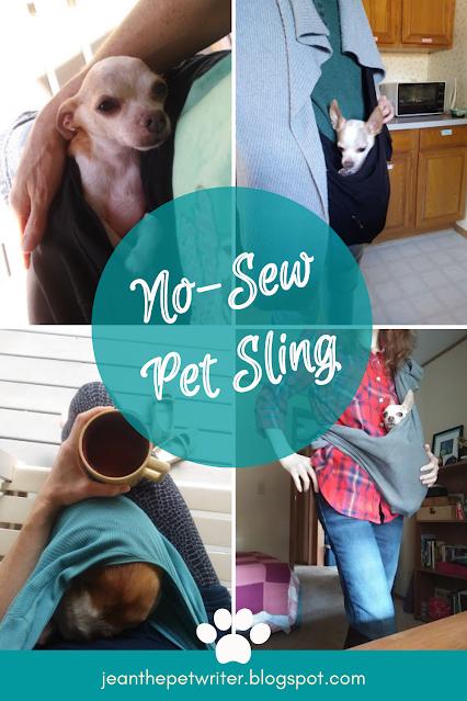 DIY No-Sew Dog Sling