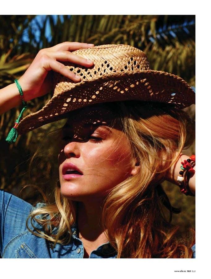 BAR REFAELI in Elle Magazine, Spain May 2012 Issue