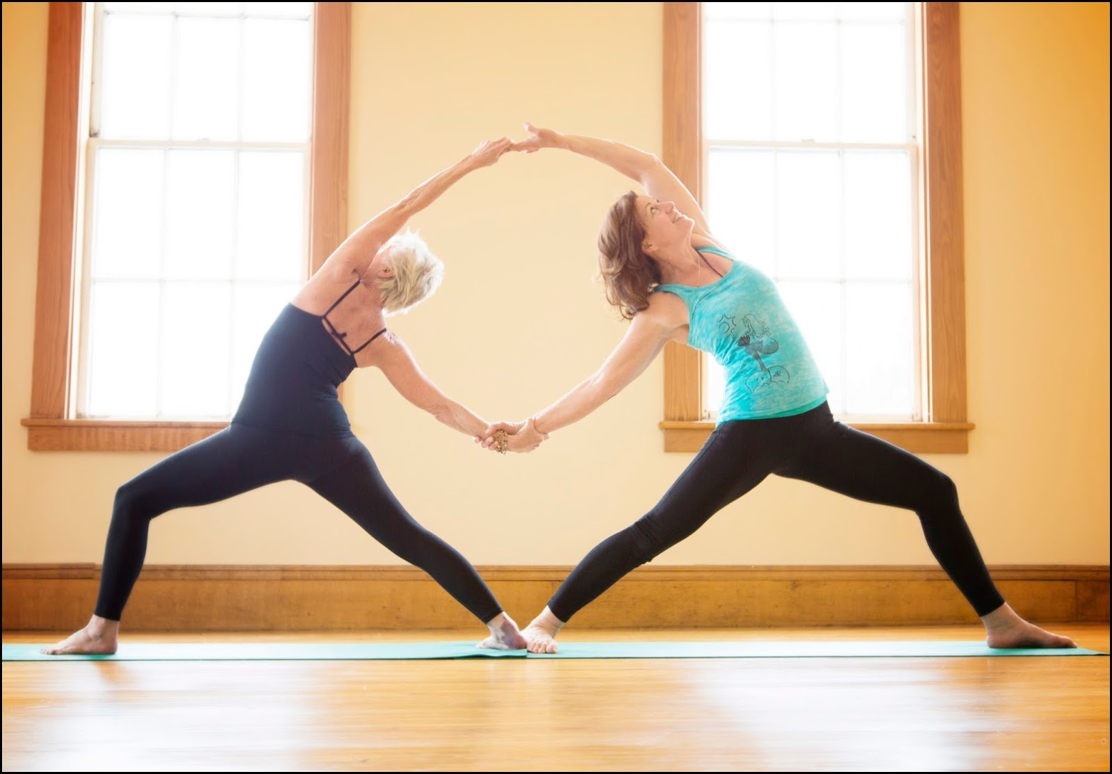 2 Person Yoga Poses For Beginners