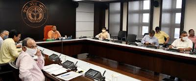 मुख्यमंत्री योगी ने केंद्रीय नागर विमानन राज्य मंत्री स्वतंत्र प्रभार के साथ वीडियो काॅन्फ्रेंसिंग की