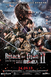 Attack on Titan II: End of the World 2015 Dual Audio 720p BluRay