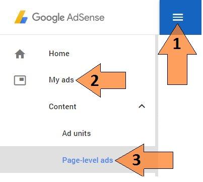 Adsense Page-level ads Kya hai or isay apne blog par kaise lagaye ?