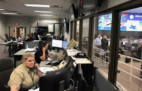 Skilled Ark-La-Tex dispatchers packed their bags and went to Baton Rouge to help victims of Tropical Storm Barry